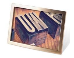 Ramka na zdjęcia Senza 10x15 Brass matow