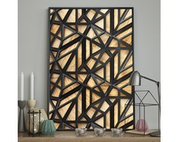 DecoKing - Plakat ścienny - Wood Craft