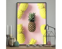 DecoKing - Plakat ścienny - Pineapple - Invasion