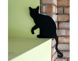 Prezent do ogrodu Nierdzewny Kot Dusia