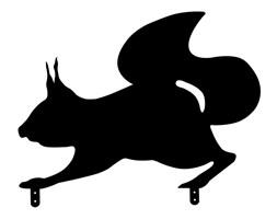 Wiewióra figurka wiewiórki do ogrodu