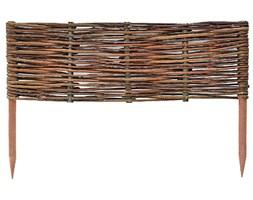 Wiklinowy panel ogrodowy drewniany 50x40