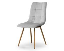 Krzesło BEN jasnoszary/ noga dąb Bettso