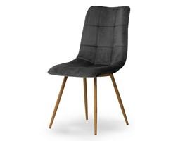 Krzesło BEN ciemnoszary/ noga dąb Bettso