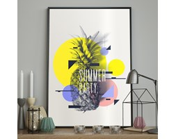 DecoKing - Plakat ścienny - Summer Party