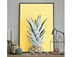DecoKing - Plakat ścienny - Pineapple Portrait