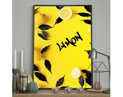 DecoKing - Plakat ścienny - Limon