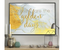 DecoKing - Plakat ścienny - Golden Days