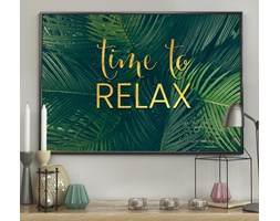 DecoKing - Plakat ścienny – Evergreen - Relax