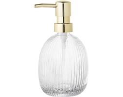 Dozownik do mydła szklany Bloomingville transparentny