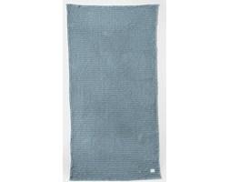 Ręcznik 140x70 cm Organic przydymiony niebieski