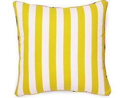 Poduszka dekoracyjna Posh Keep it Simple biało-cytrynowa