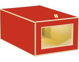 Pudełko na buty Die Kante czerwone