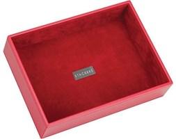 Pudełko na biżuterię open classic Stackers czerwone