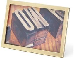 Ramka na zdjęcia Senza 10 x 15 cm matowy mosiądz