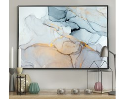 DecoKing – Plakat ścienny – Marble - Blue - Home