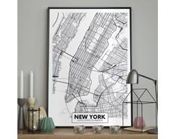 DecoKing - Plakat ścienny – Map – New York