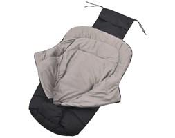 vidaXL Śpiworek do wózka spacerowego, 90 x 45 cm, czarny