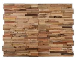 vidaXL Panele okładzinowe ścienne 1 m², drewno tekowe z recyklingu