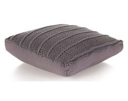 vidaXL Dziana poduszka podłogowa, kwadratowa, bawełna, 60x60 cm, szara