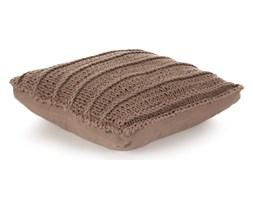 vidaXL Poduszka podłogowa, kwadratowa, bawełna, 60x60 cm, brązowa