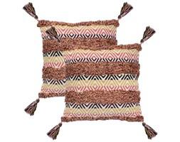 vidaXL 2 poduszki, 60x60 cm, styl boho, wielokolorowe