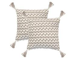 vidaXL 2 poduszki, 45x45 cm, styl boho, brązowe