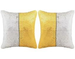 vidaXL Zestaw 2 poduszek z cekinami 45x45 cm złoty i srebrny