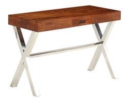 vidaXL Biurko, drewno akacjowe stylizowane na sheesham, 110x50x76 cm