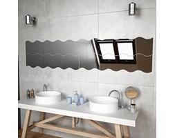 vidaXL Lustra ścienne w kształcie fali, 4 szt., 110 x 23 cm, szklane