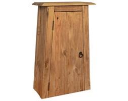 vidaXL Wisząca szafka łazienkowa, drewno sosnowe z odzysku, 42x23x70cm