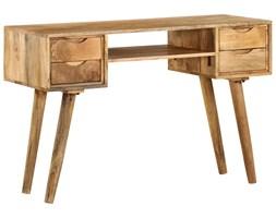 vidaXL Biurko z litego drewna mango, 115 x 47 x 76 cm