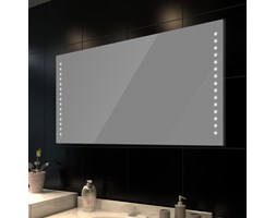 vidaXL Lustro łazienkowe LED 100x60 cm
