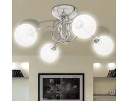 vidaXL Lampa sufitowa z drucianymi kloszami na 4 żarówki G9