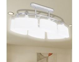 vidaXL Nowoczesna lampa sufitowa, elipsa żarówki 6xE14