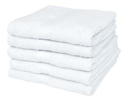 vidaXL Ręczniki, 5 szt., bawełna, 500 g/m², 70x140 cm, białe