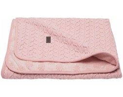 Bébé-Jou Kocyk Samo, różowy, 100 x 75 cm, 3044114