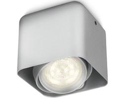 Philips myLiving Reflektor sześcienny LED Afzelia, 4,5 W, srebrny