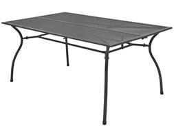 vidaXL Ogrodowy stół jadalniany, metalowa siatka, 150x90x72 cm