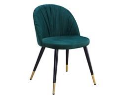 Krzesło MOA zieleń / czarno-złoty