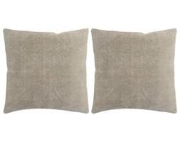 vidaXL Poduszki ręcznie wykonane, 2 szt., 45 x 45 cm, taupe