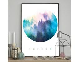 DecoKing - Plakat ścienny – Watercolor - Forest