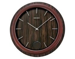 Zegar SEIKO QXC222Z Drewniany Wahadło Średnica 34 cm