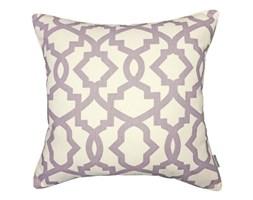 Poduszka z geometrycznym wzorem Geo Lila, Rozmiar: 45 x 45 cm