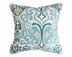 Poduszka dekoracyjna Ikat Blue, Rozmiar: 45 x 45 cm