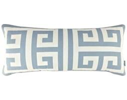 Poduszka ze wzorem greckiego klucza Key Cloudy, Rozmiar: 30 x 65 cm