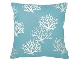 Poduszka dekoracyjna koralowiec Coral Blue, Rozmiar: 45 x 45 cm