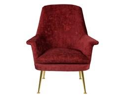 Fotel uszak Miyo bordowy, Kolor: bordowy Materiał: welur Rozmiar: 66 x 68 x 92 cm