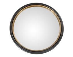 Lustro okrągłe Thor 50 cm, Rozmiar: 50 cm Kolor: złoty Materiał: metal