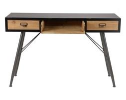 Konsola biurko Highland, Rozmiar: 120 x 40 x 76 Kolor: czarny Materiał: drewno